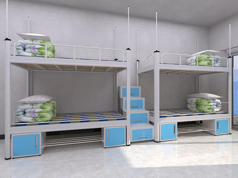 省空间、经久耐用的上下双层宿舍铁床-佛山市罗兰西尼门窗公司