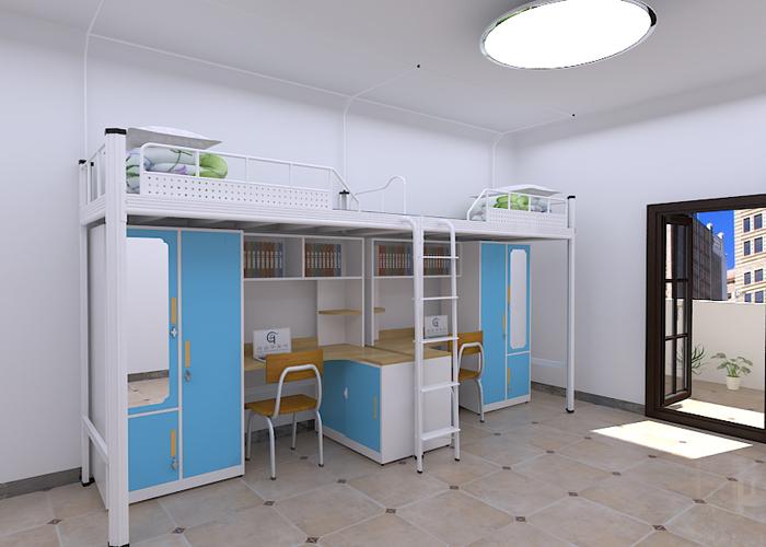 钢制公寓床-GH-G-073
